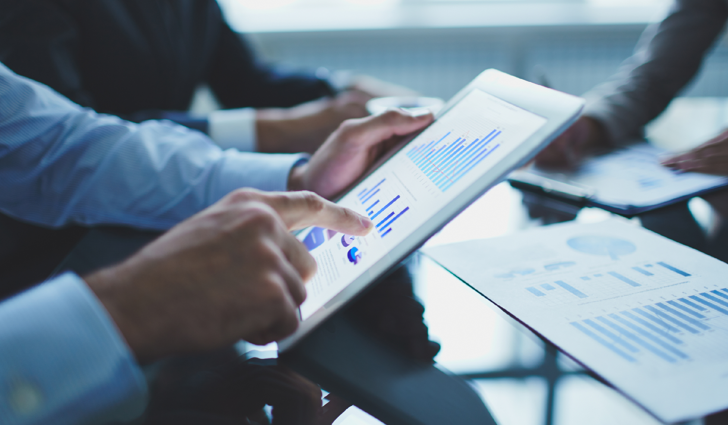 Checking Data analytics on tab