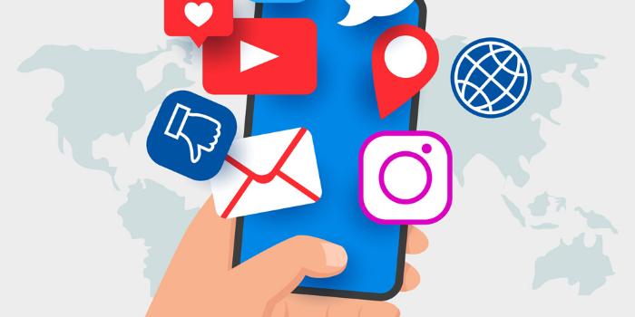 Social Media apps on Mobile