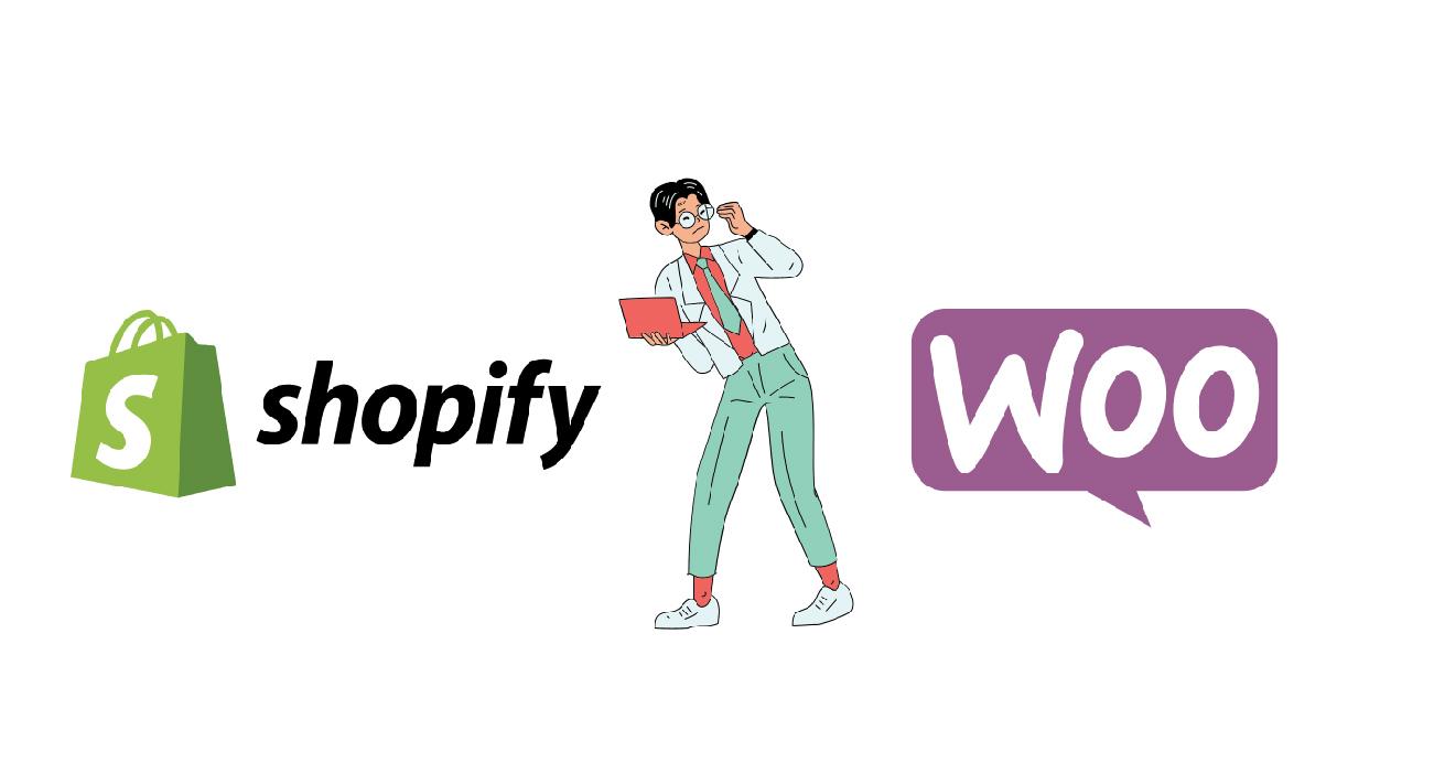 choosing between Shopify vs Woocommerce