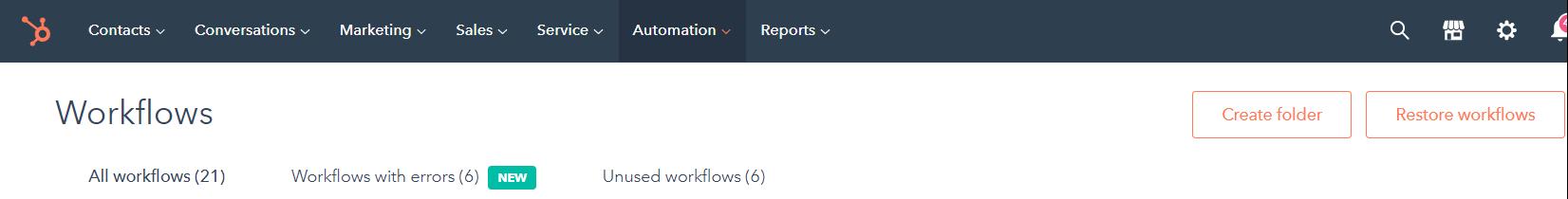 Hubspot email workflows